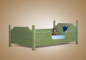 Kinderbett junge  Kinderbett und Jugendbett aus Massivholz Zwergenmöbel