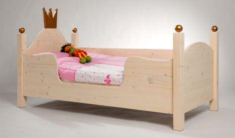 kinderbett und jugendbett aus massivholz zwergenm bel. Black Bedroom Furniture Sets. Home Design Ideas