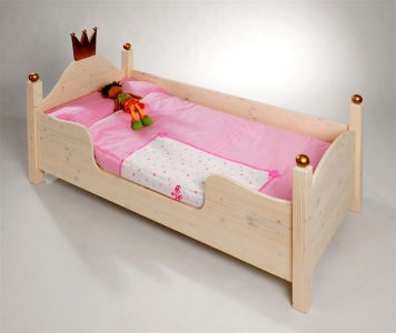 kojenbett prinzessin bett lotta als kinderbett. Black Bedroom Furniture Sets. Home Design Ideas