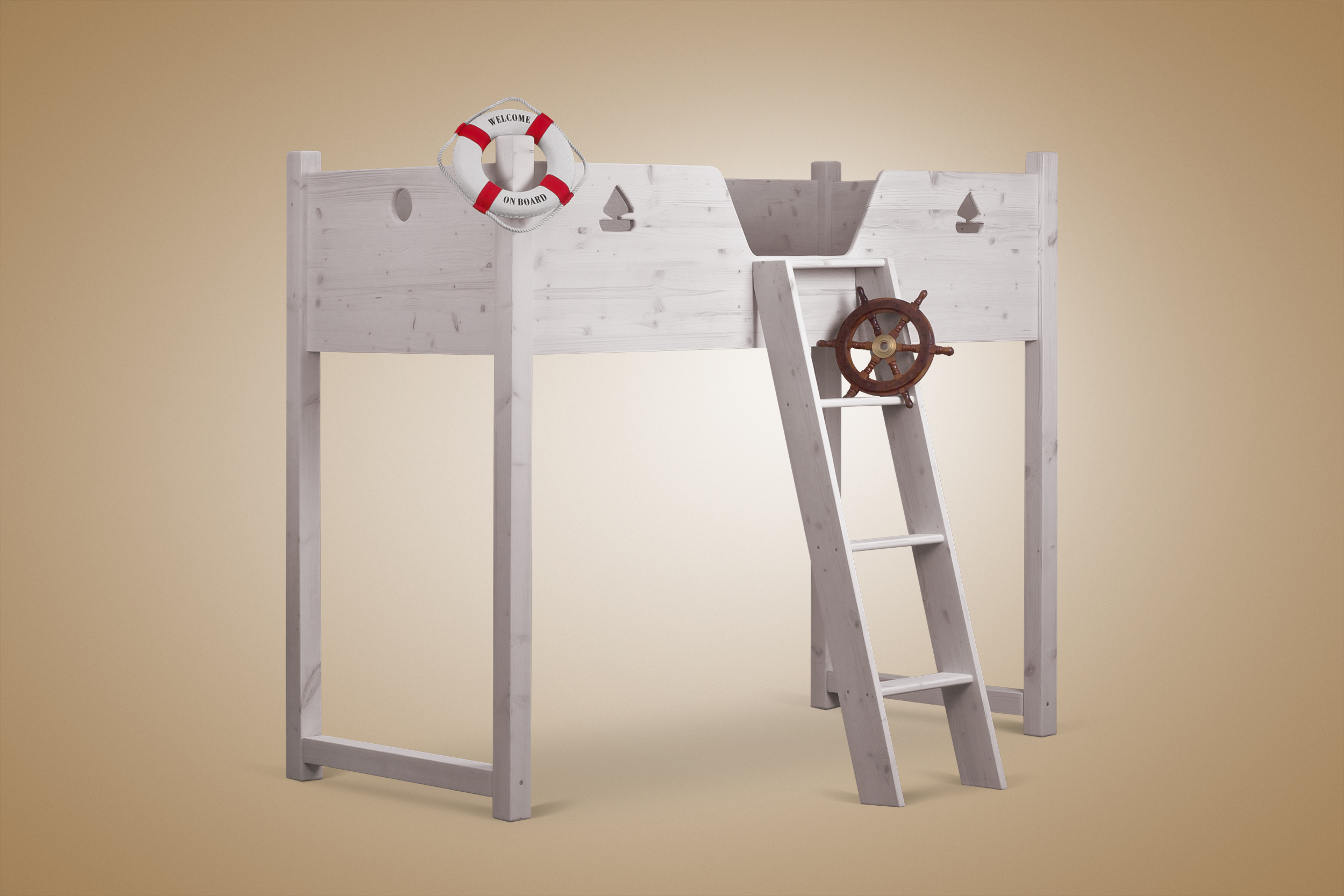 hochbett lauri ein kinderhochbett f r jungen und m dchen. Black Bedroom Furniture Sets. Home Design Ideas
