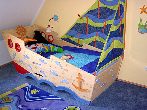 Etagenbett Piratenbett : Piratenbett hochbett ebay kleinanzeigen