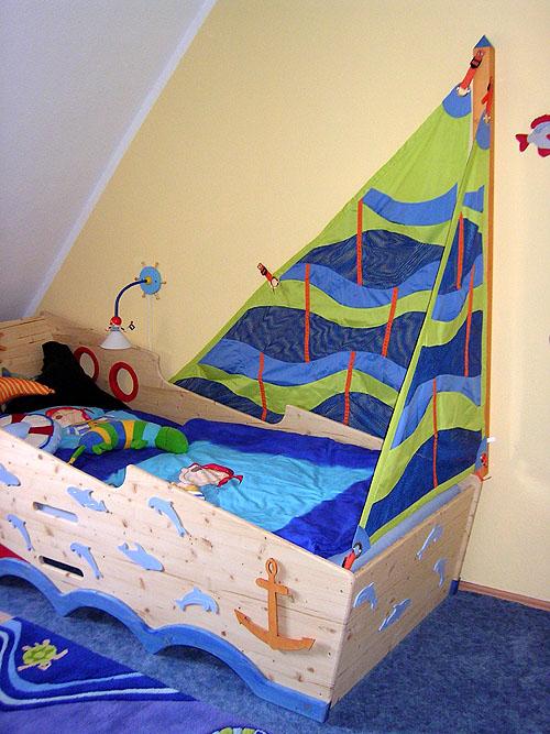Abenteuerbett Piratenbett Zwergenmöbel Jugendbetten