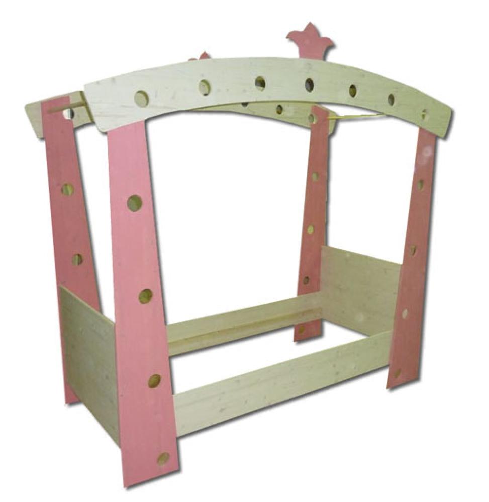 das himmelbett lisbeth ein kinderhimmelbett von zwergenm bel. Black Bedroom Furniture Sets. Home Design Ideas