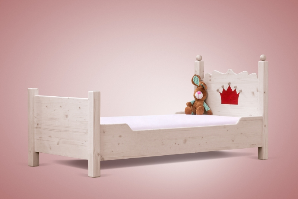 jugendbett prinzessin bett ein massivholzbett f r jugendliche. Black Bedroom Furniture Sets. Home Design Ideas